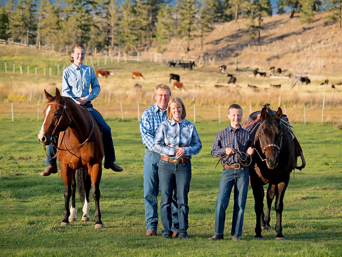 Equine photography in Kamloops